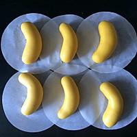 #花10分钟,做一道菜!#香蕉卡通包♥22克萌系香蕉家族♥的做法图解3