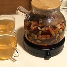 红枣枸杞桂圆菊花茶