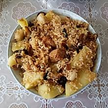 鲜肉土豆糯米饭