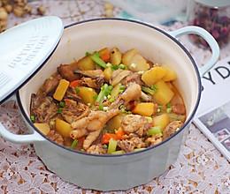 超美味的土豆胡萝卜烧鸡的做法