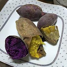 烤红薯紫薯 烤箱版