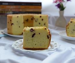蔓越莓淡奶油戚风蛋糕的做法