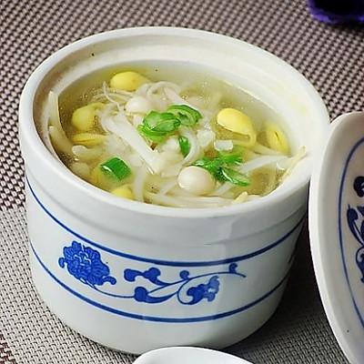 金针豆芽汤