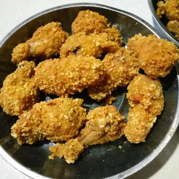 炸鸡腿,健康美味的做法