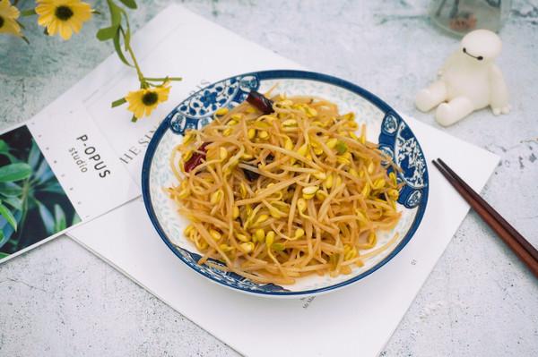 辣炒黄豆芽的做法