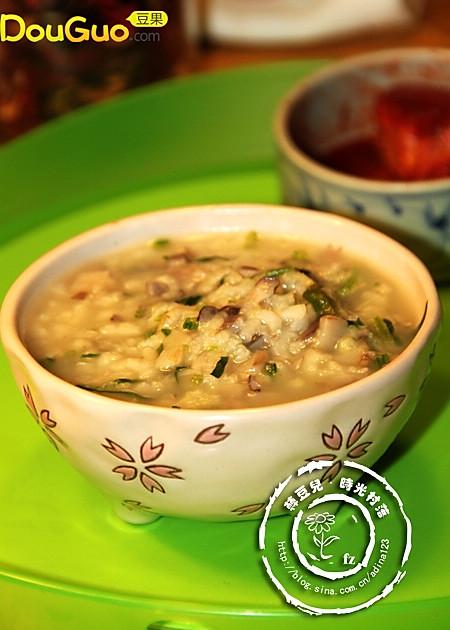 平菇菠菜粥——豆果美食的做法
