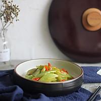 干锅莴笋-九阳轻奢炒锅