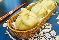 豌豆尖素菜包的做法