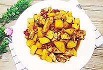 #冬季暖身菜#土豆焖鸡的做法