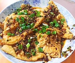 家常菜-凉拌油豆腐的做法