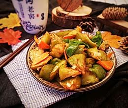 舌尖上的东北菜,家常烧茄子的做法