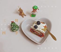 """#甜蜜暖冬,""""焙""""感幸福#圣诞双色蛋糕卷的做法"""