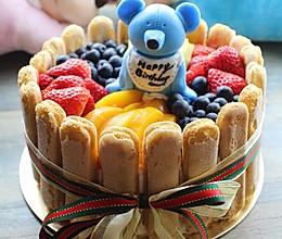 水果戚风生日蛋糕的做法