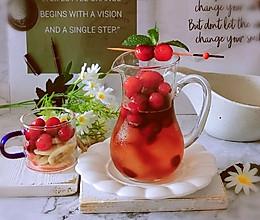 #轻饮蔓生活#蔓越莓果汁冰饮的做法