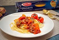 番茄咖喱牛肉意面#一机多能,一席饪选#的做法
