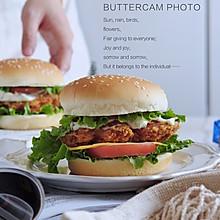 自制鸡排汉堡,营养美味又健康