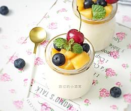 自制低糖水果酸奶(无菌粉版)的做法