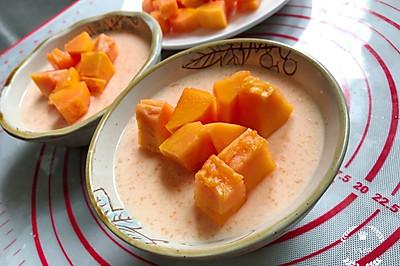 木瓜撞奶-1岁+甜品