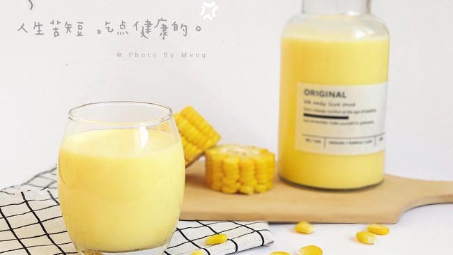 香浓丝滑牛奶玉米甜汤汁#洗手作羹汤#的做法