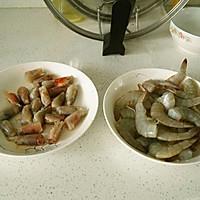 一虾两吃的做法图解1