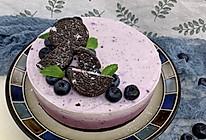 """#安佳一口""""新""""年味#蓝莓酸奶慕斯蛋糕(6寸)的做法"""
