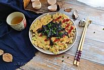 #母亲节,给妈妈做道菜#简易大阪烧的做法
