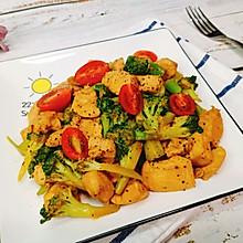 低脂减肥餐!鲜嫩多汁的黑椒鸡胸肉!