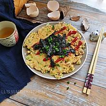 #母亲节,给妈妈做道菜#简易大阪烧