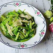 芹菜炒油豆皮#舌尖上的春宴#