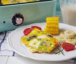 快手早餐营养鸡蛋饼的做法