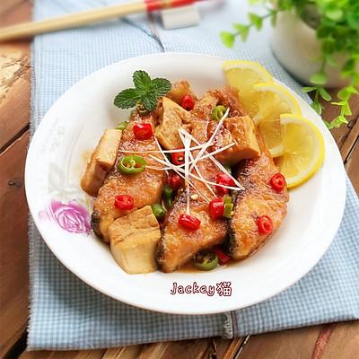 豆腐烧鱼块------利仁电火锅试用菜谱