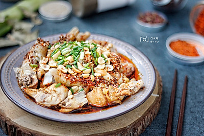 #父親節,給老爸做道菜#麻辣鮮香的口水雞