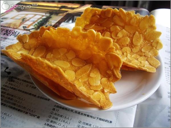 杏仁瓦片【最简单易做的零吃嘴儿】的做法