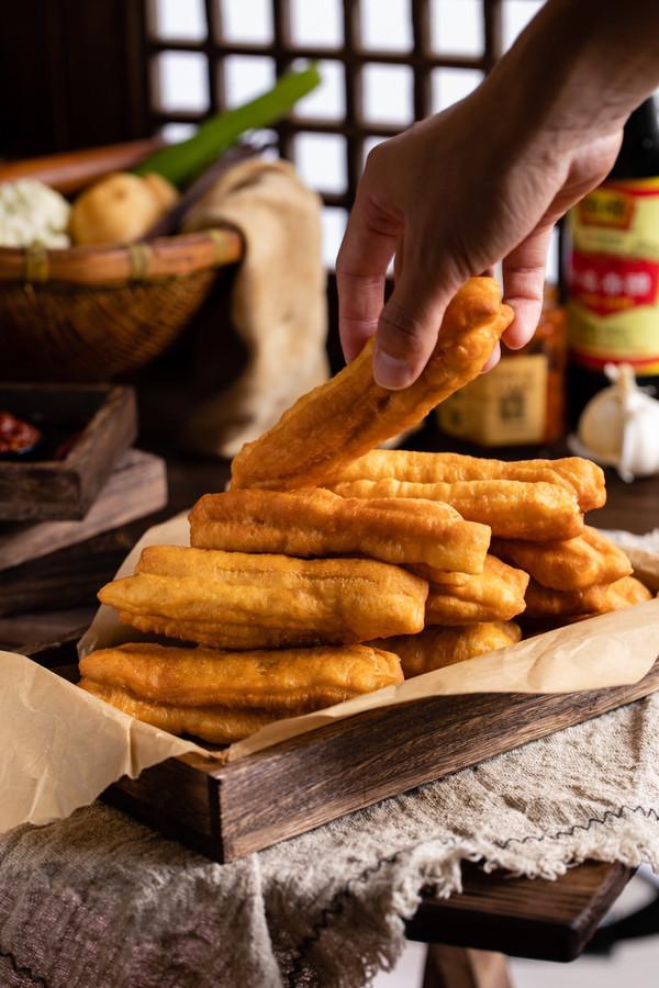 五分钟搞定中国胃早餐吃不腻的油条!简单!快手!