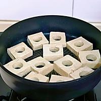 #憋在家里吃什么#茄汁鹌鹑蛋酿豆腐的做法图解6