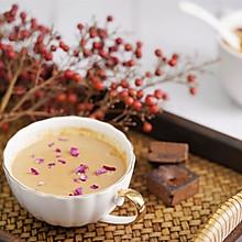 冬季热饮 | 红糖姜汁撞奶,香甜滑嫩 入口即化