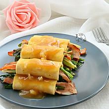 韭菜千张卷#舌尖上的春宴#