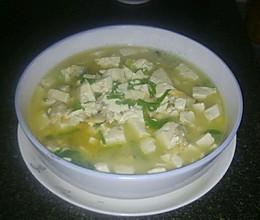 花蛤炖豆腐(极鲜的味道)的做法