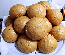 红糖燕麦馒头的做法