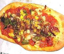 纯素披萨~无蛋无肉无奶无奶酪手做番茄酱的做法