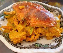 浓郁惹味的咖喱面包蟹 米饭杀手就是它的做法