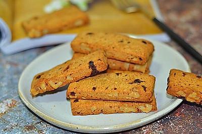 红糖粒粒核桃脆饼