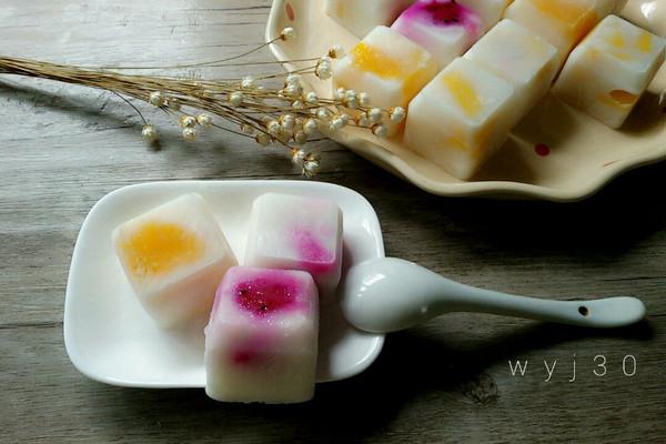 水果酸奶冰的做法
