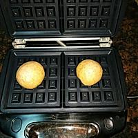 全麦夹心华夫饼(低脂酵母版)的做法图解7
