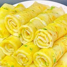家常鸡蛋饼(五分钟搞定营养健康早餐,上班族必学)
