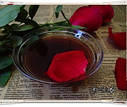 玫瑰露的做法