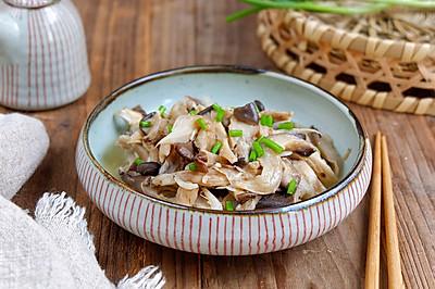 虾皮炒鲜蘑