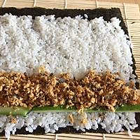#爽口凉菜,开胃一夏!#肉松寿司卷的做法图解10