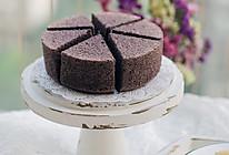 6寸黑米蒸蛋糕的做法
