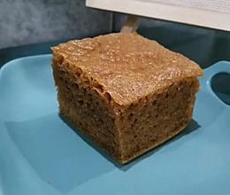 传统口味马拉糕(8寸方盘)的做法